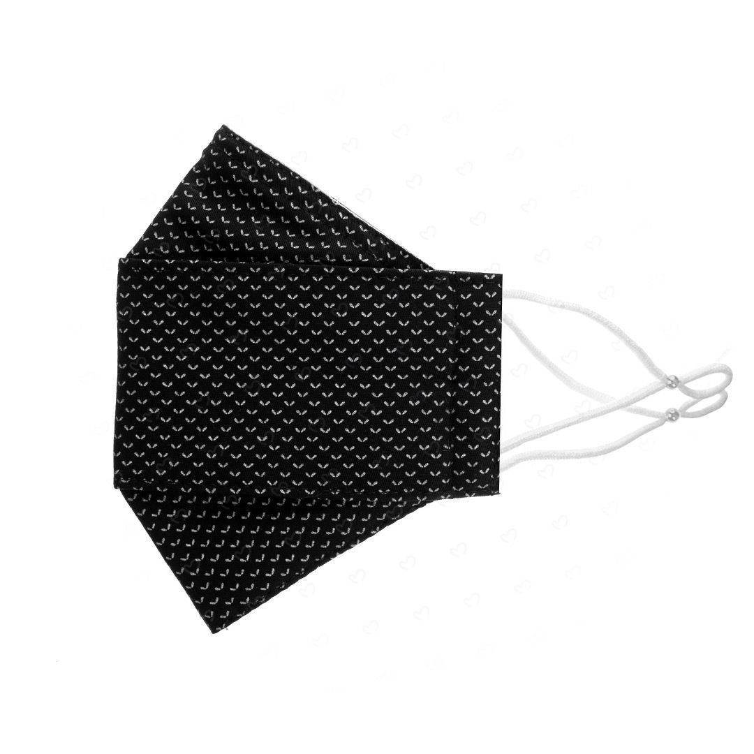ماسک پارچه ای مدل سه بعدی کد DEL30